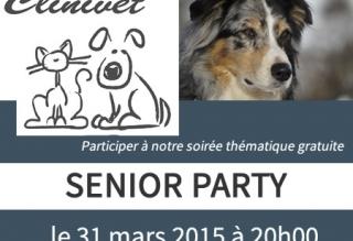 Soirée thématique - Senior party pour vos animaux